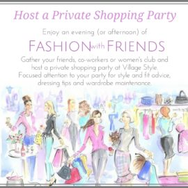 Private Shopping Parties
